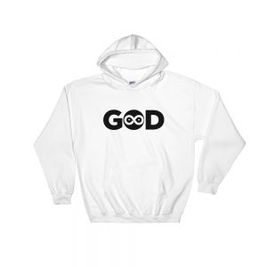 God Infinity Hoodie of white