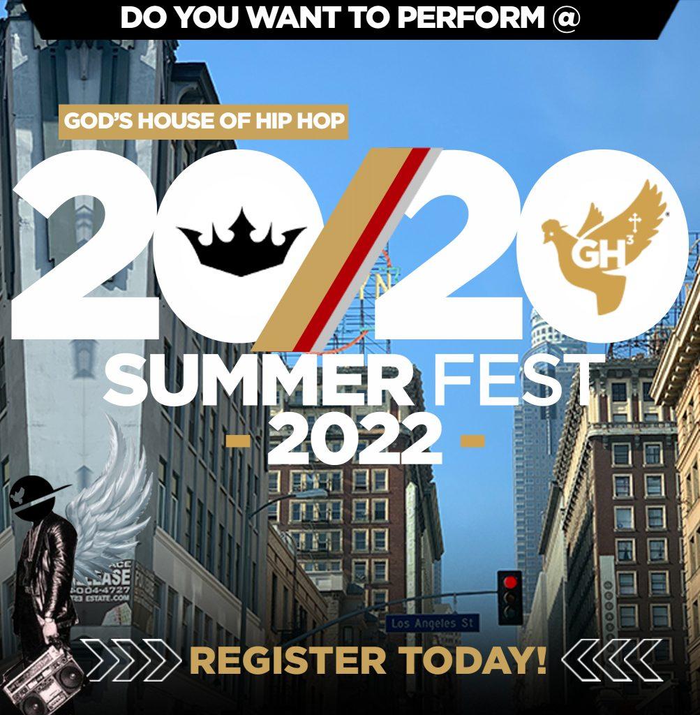 Gods House of Hip Hop 2020 Summer Fest 2022 Performance request